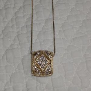 Trifari Gorgeous Silver Necklace!!!